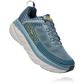 Hoka One One Bondi 6 Shoes Men lead/majolica blue